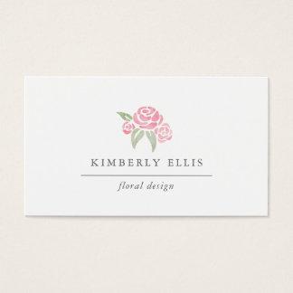 Petite Bouquet | Watercolor Floral Business Card