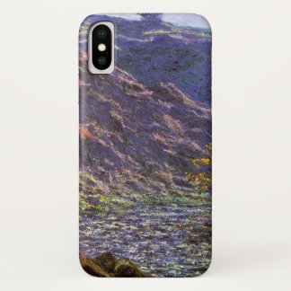 Petite Creuse, Sunlight by Claude Monet iPhone X Case