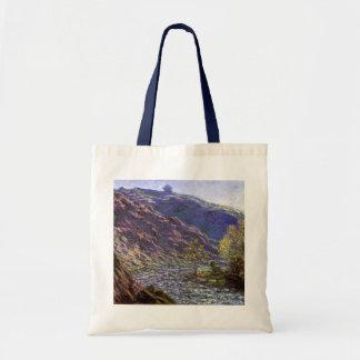 Petite Creuse, Sunlight by Claude Monet Tote Bag