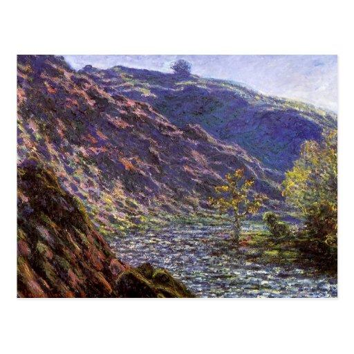 Petite Creuse, Sunlight by Monet, Vintage Fine Art Post Cards
