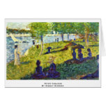 Petite Esquisse By Seurat Georges Card