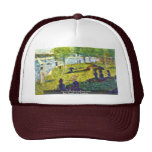Petite Esquisse By Seurat Georges Trucker Hats