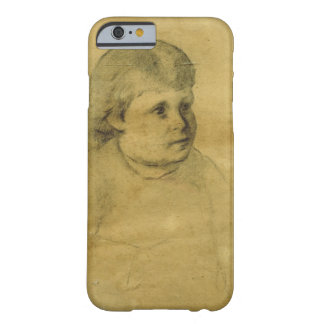 Petite fille (charcoal) barely there iPhone 6 case