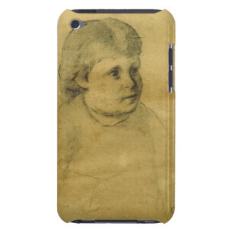 Petite fille (charcoal) Case-Mate iPod touch case