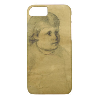 Petite fille (charcoal) iPhone 7 case