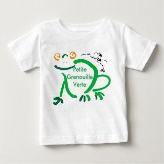 petite grenouille verte baby T-Shirt