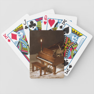Petite Piano Bicycle Poker Deck