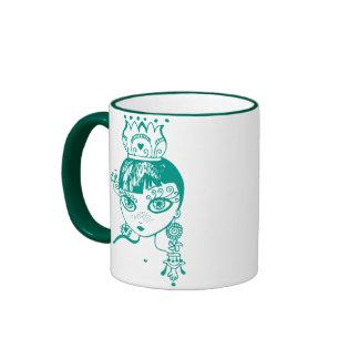 Petite Princesse Ringer Coffee Mug