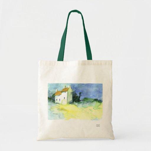 Petites Maisons no.1 (Little Houses) Budget Tote Bag