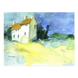 Petites Maisons no.1 (Little Houses) Postcard