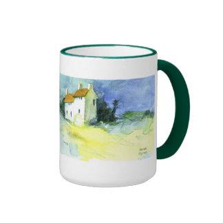 Petites Maisons no.1 (pequeñas casas) Taza De Café
