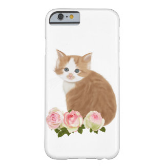 """PetitRose """"Cute Ginger Kitten"""" , Iphone 6 Barely There iPhone 6 Case"""