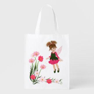 "PetitRose ""Little Flower Fairy"" , Bag Grocery Bags"