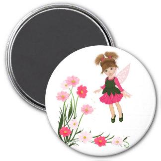 """PetitRose """"Little Flower Fairy"""" , Magnet"""