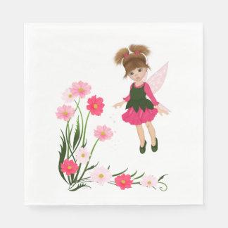 "PetitRose ""Little Flower Fairy"" , Paper Napkins"