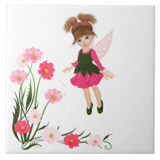 """PetitRose """"Little Flower Fairy"""" , Tile"""