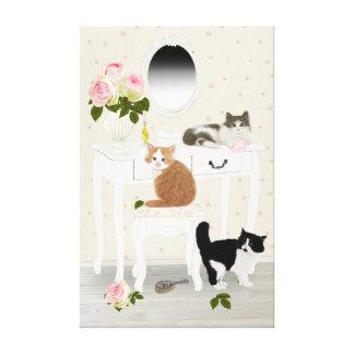 "PetitRoses ""Kittens Beauty Salon"" , Canvas"