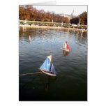 Petits bateaux greeting card