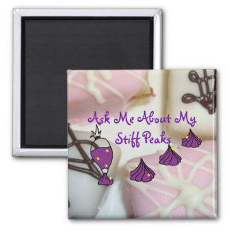 Petits Fours and Stiff Peaks Magnet
