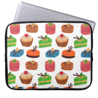 Petits Fours Laptop Computer Sleeve