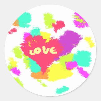 petna-love.png classic round sticker