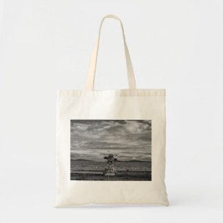 Petone Beach Structure Tote Bag