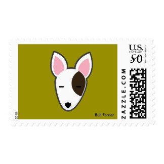 Petory Bull Terrier Postage