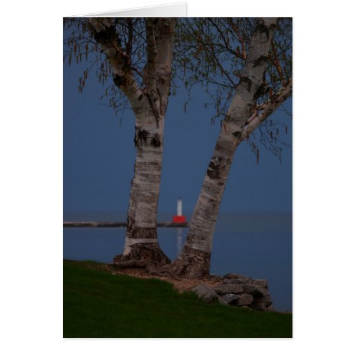 Petoskey Lighthouse Card