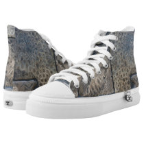 petoskey stone tile High-Top sneakers