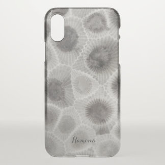 Petosky Stone Pattern iPhone X Case