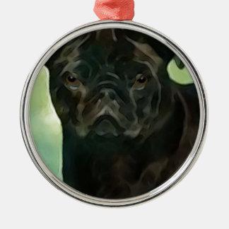 petportraitoct2014 metal ornament