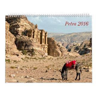 Petra 2016 del calendario