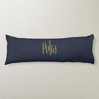 Petra alto personalizado del oro de la elegancia cojin cama