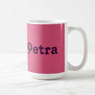 Petra de la taza