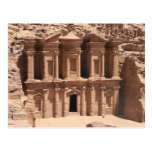 petra del monasterio lleno tarjeta postal