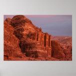 Petra - El monasterio Póster