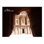 petra glimpsed del monasterio postal