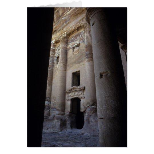 Petra, Jordan. Card