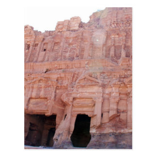 Petra Jordan Palace Tombs Postcard