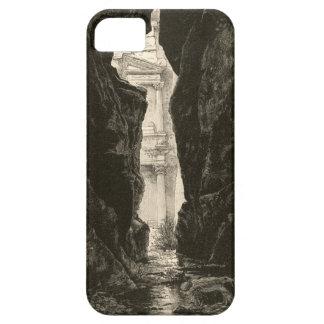 Petra Jordan UNESCO Heritage Site Engraving iPhone 5 Cover
