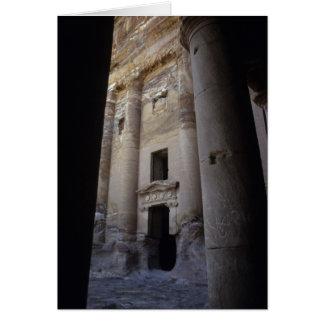 Petra, Jordania Tarjeta De Felicitación