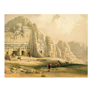 Petra, March 8th 1839, plate 96 from Volume III of Postcard