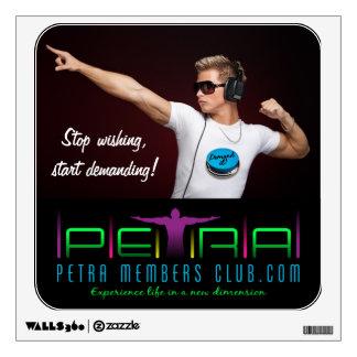 Petra Members Club Wall Decal