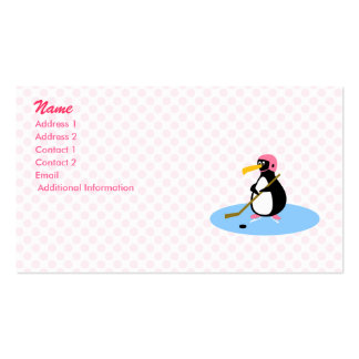 Petra Penguin Business Card Template