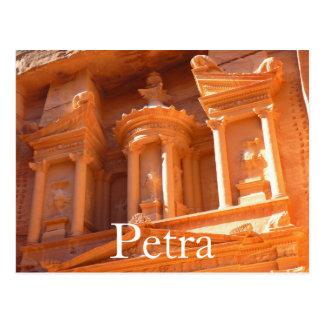 Petra, postal de Jordania