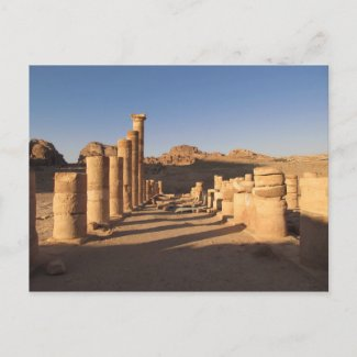 Petra Postcard postcard