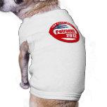 Petraeus 2012 button pet tee