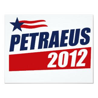 PETRAEUS 2012 CUSTOM ANNOUNCEMENTS