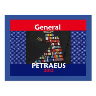 Petraeus 2012 Postcard