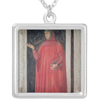 Petrarch   de la serie de Carducci del chalet Collar Plateado